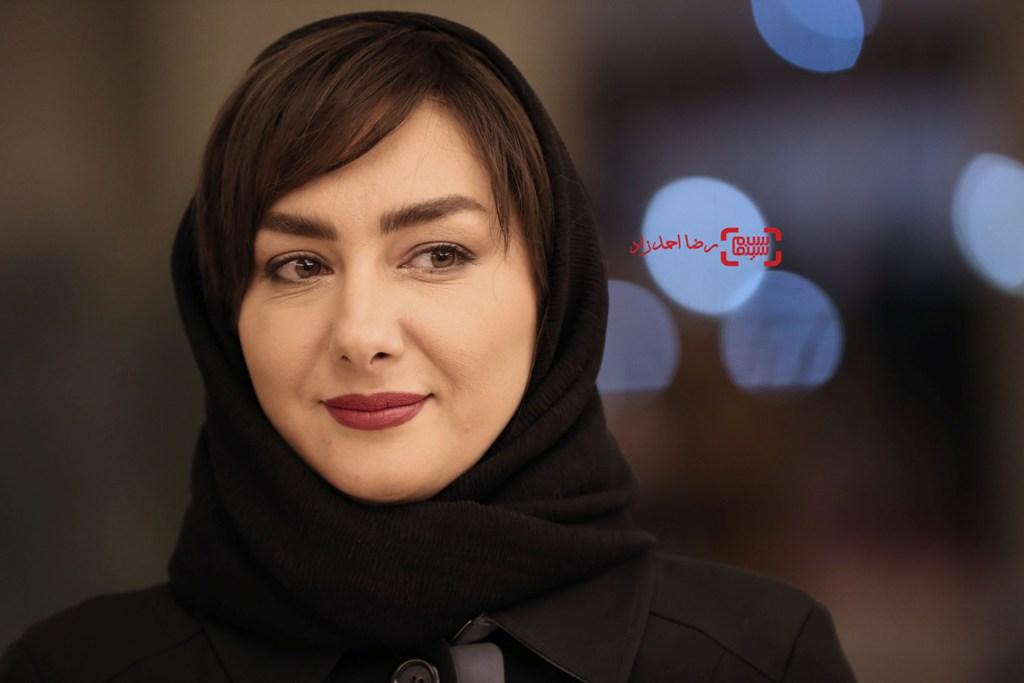 هانیه توسلی در اکران «مادری» در سی و پنجمین جشنواره فیلم فجر
