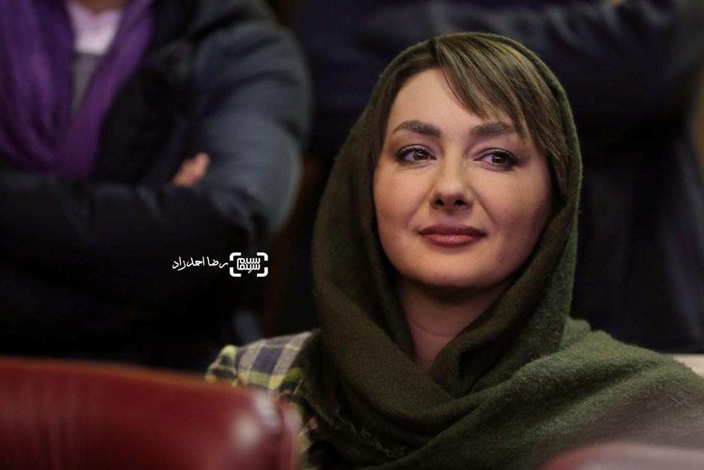 هانیه توسلی در نشست خبری فیلم «سد معبر» در سی و پنجمین جشنواره فیلم فجر