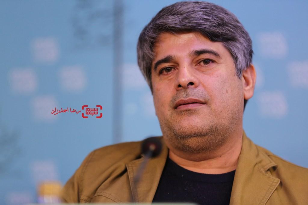 جواد نوروزبیگی در نشست فیلم «تابستان داغ» در سی و پنجمین جشنواره فیلم فجر