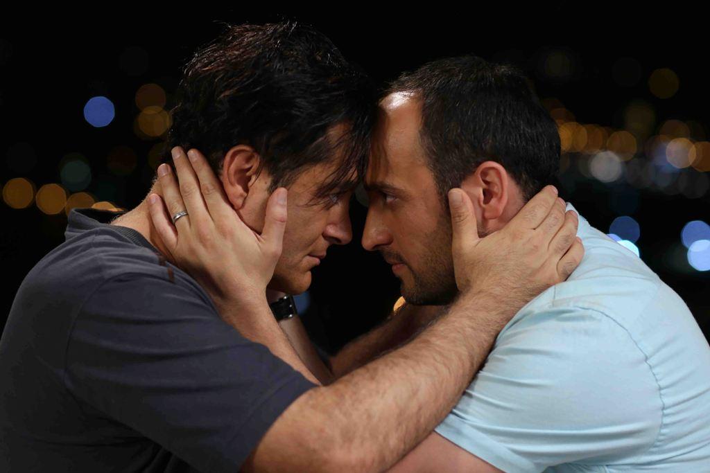 علی سرابی و محمدرضا گلزار در فیلم «خشکسالی و دروغ» ساخته پدرام علیزاده