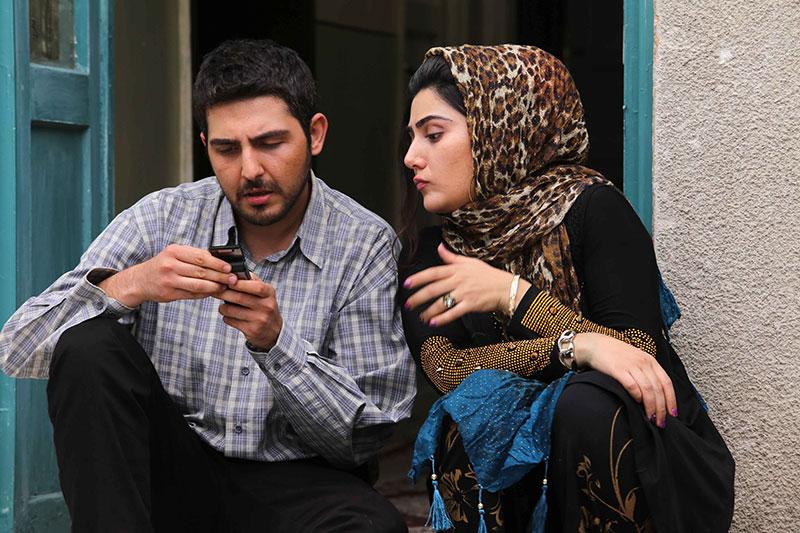باران کوثری و محمدرضا غفاری در فیلم کوچه بی نام
