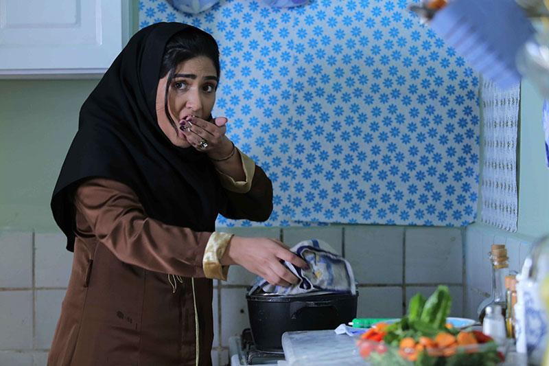 باران کوثری در نمایی از فیلم «کوچه بی نام»