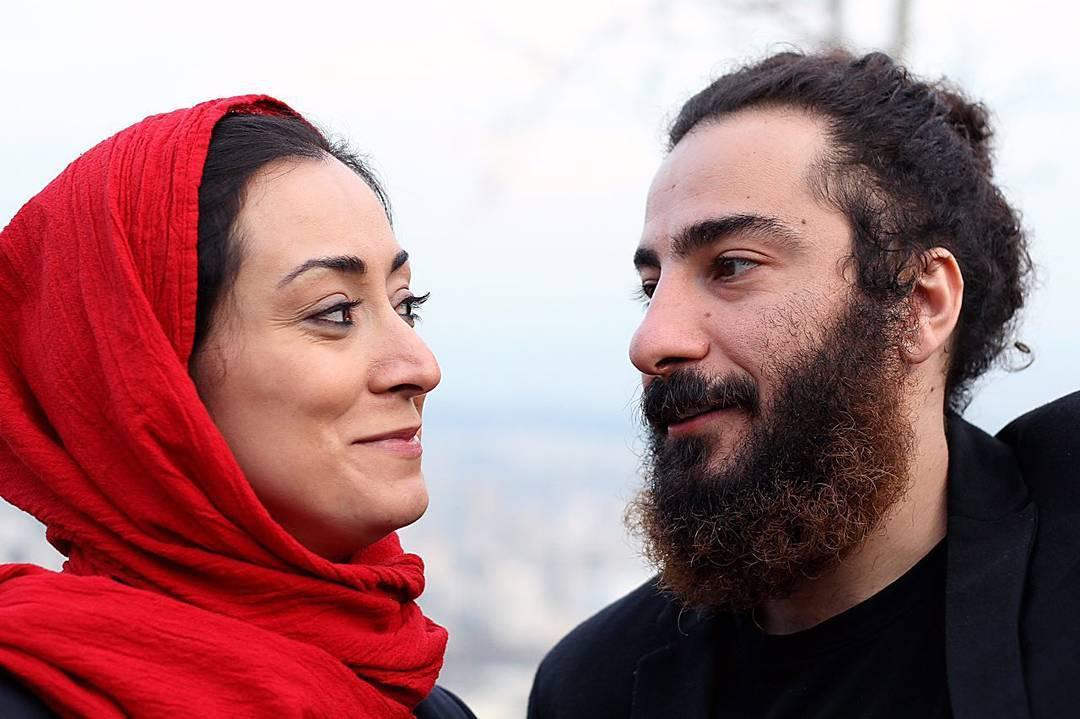 مریم پالیزبان و نوید محمدزاده در نمایی از فیلم «لانتوری»