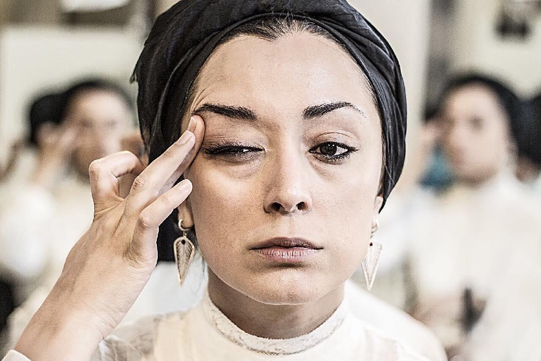 مريم پاليزبان در نمایی از فیلم «لانتوری»