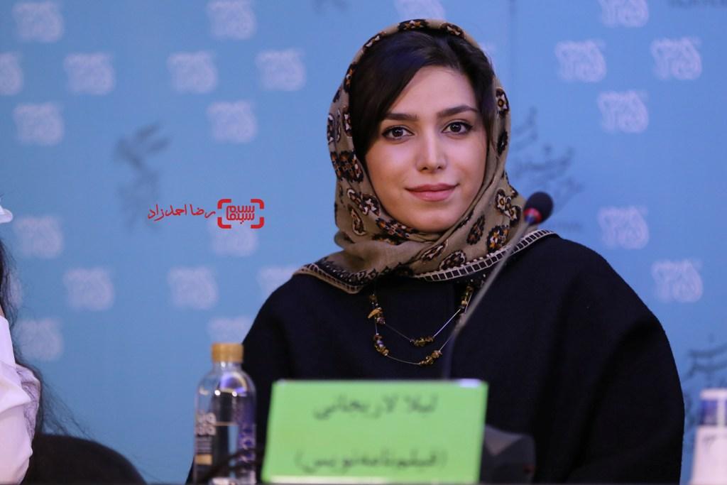 لیلا لاریجانی در نشست «ماجان» در سی و پنجمین جشنواره فیلم فجر