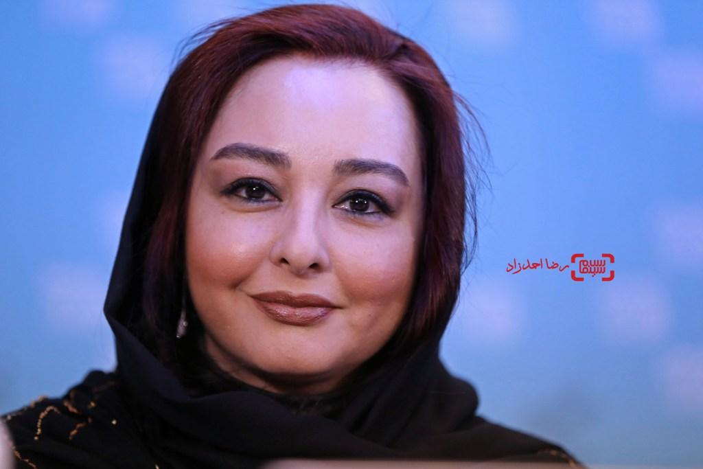 ماهایا پطروسیان در نشست خبری «خفه گی» در سی و پنجمین جشنواره فیلم فجر