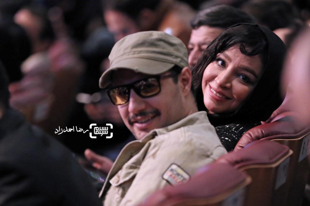 مه لقا باقری در اختتامیه سی و پنجمین جشنواره فیلم فجر