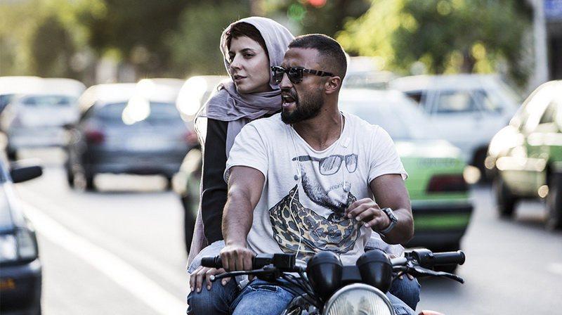 لیلا حاتمی و امیر جدیدی در فیلم «من»