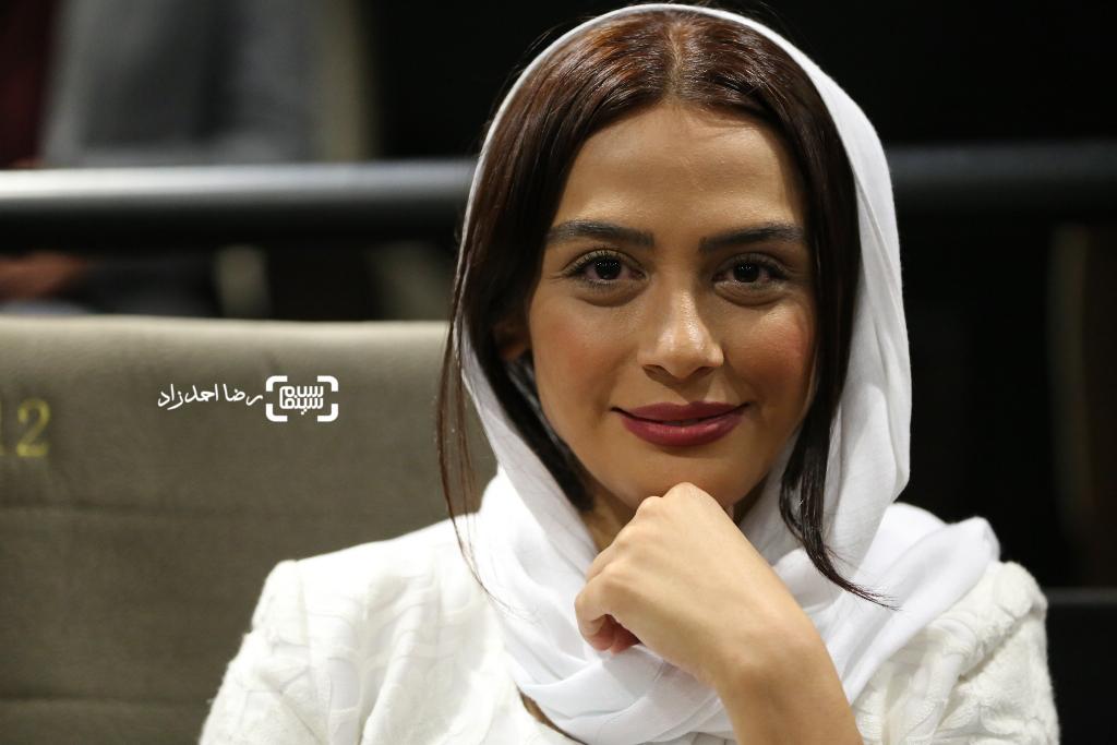 مارال فرجاد در اکران خصوصی فیلم «ربوده شده»