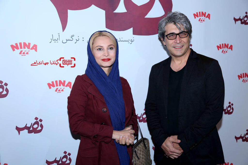 مریم کاویانی و امیر غفارمنش در اکران خصوصی فیلم «نفس»