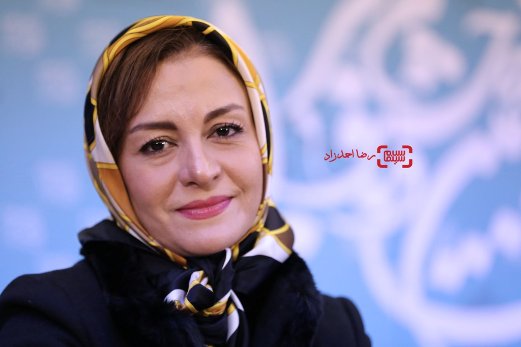 مریلا زارعی در نشست خبری «زیر سقف دودی» در سی و پنجمین جشنواره فیلم فجر