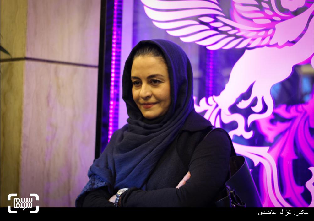 مریلا زارعی در اکران فیلم «بادیگارد» در کاخ سی و چهارمین جشنواره فیلم فجر