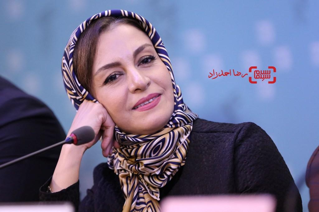 مریلا زارعی در نشست خبری فیلم «اسرافیل» در سی و پنجمین جشنواره فیلم فجر