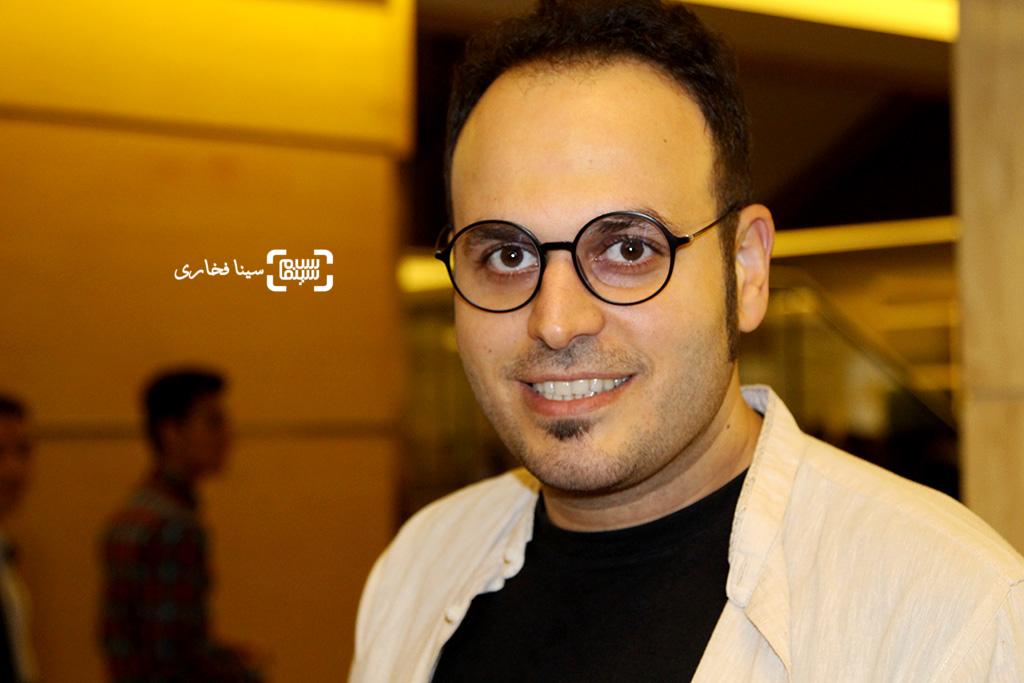 محمدحسین مهدویان کارگردان و نویسنده فیلم «ایستاده در غبار» در اختتامیه جشنواره فیلم مقاومت