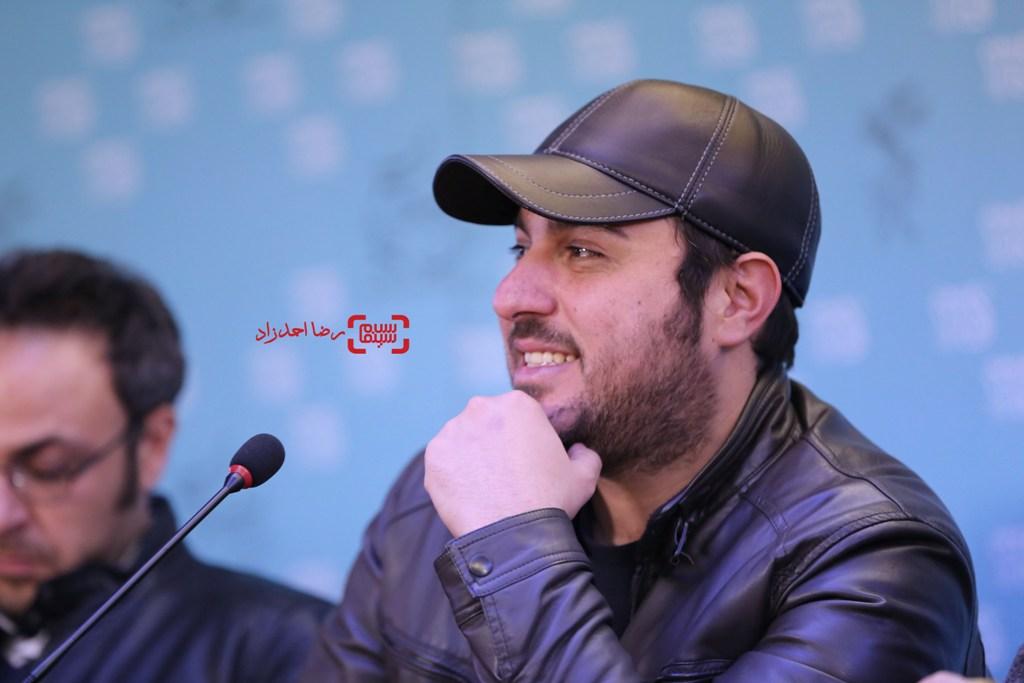 محسن کیایی در نشست خبری فیلم «سد معبر» در سی و پنجمین جشنواره فیلم فجر