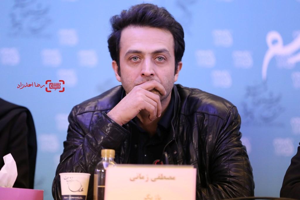 مصطفی زمانی در نشست خبری «یک روز بخصوص» در جشنواره فیلم فجر35