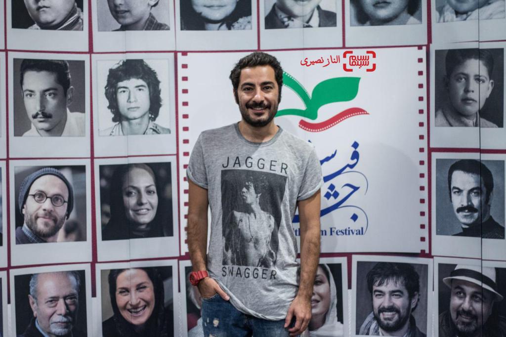 نويد محمدزاده در اکران فیلم «لانتوری» در جشنواره فیلم سلامت