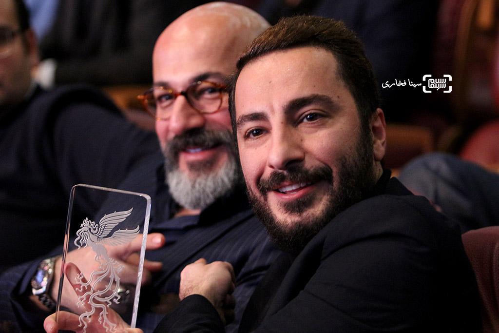 نوید محمدزاده برنده سیمرغ بهترین بازیگر مکمل مرد برای «بدون تاریخ، بدون امضا» در اختتامیه جشنواره فجر35