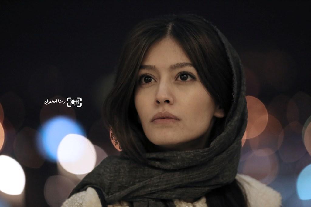 پردیس احمدیه در اکران فیلم «خفه گی» در سی و پنجمین جشنواره فیلم فجر