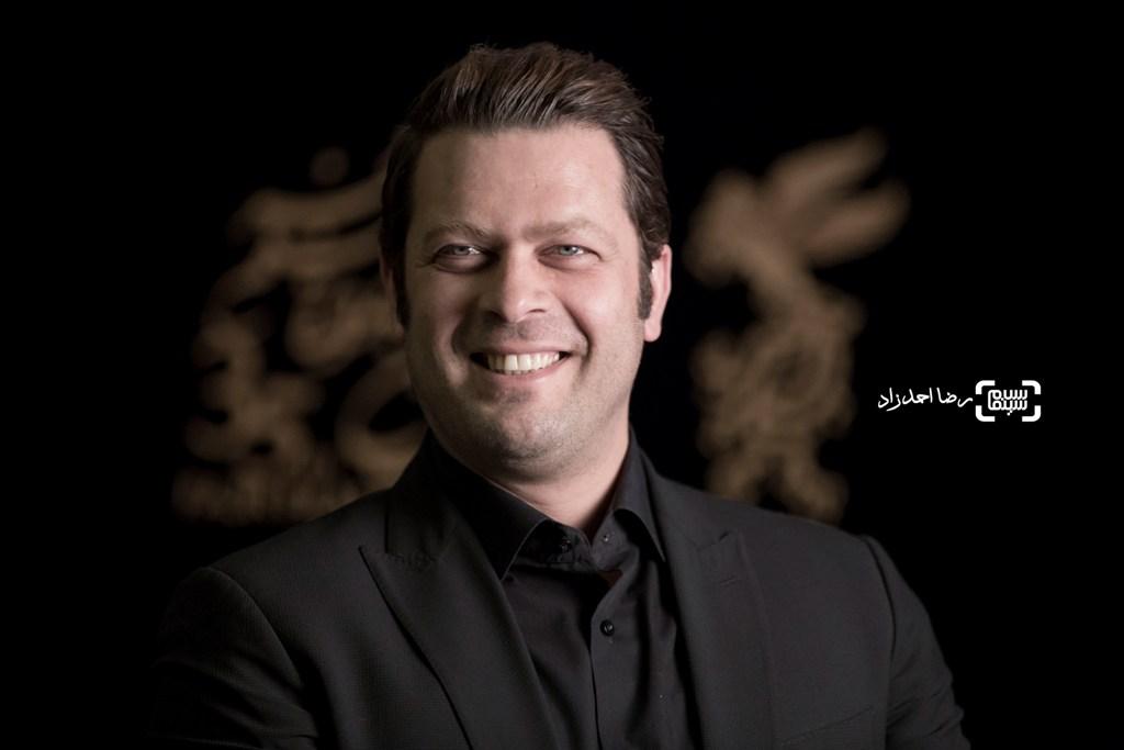 پژمان بازغی در اکران فیلم «اسرافیل» در سی و پنجمین جشنواره فیلم فجر