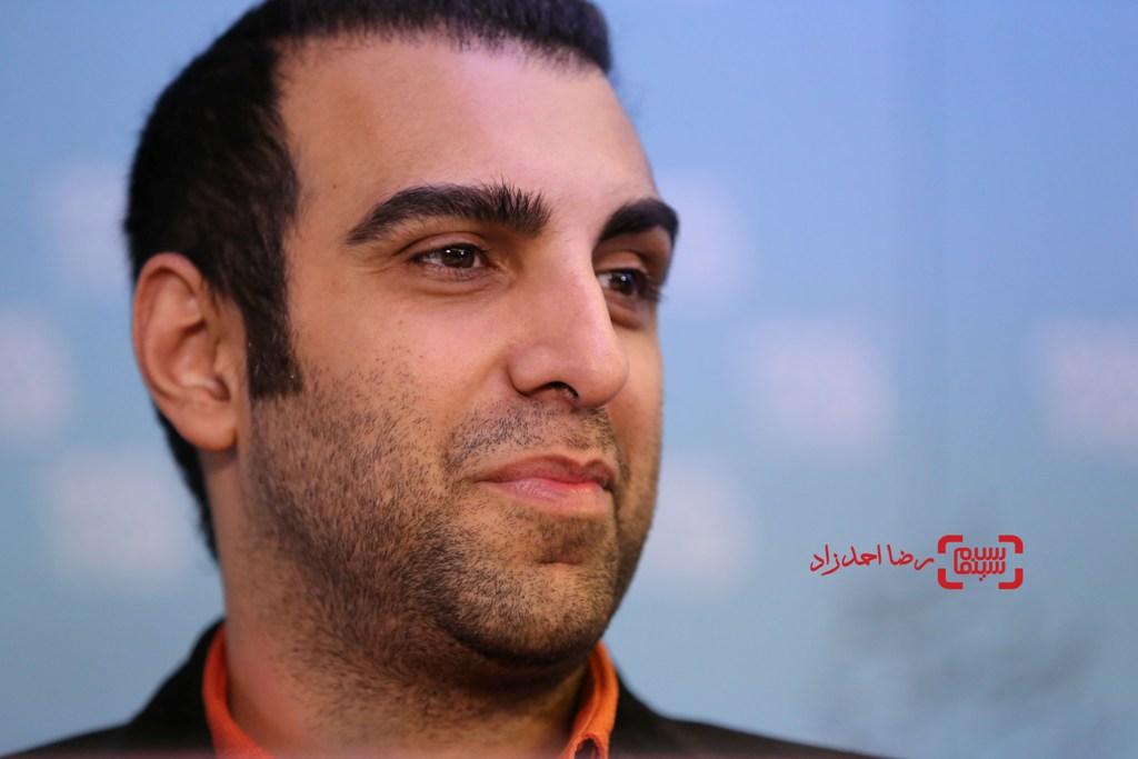 پولاد کیمیایی در نشست خبری فیلم «گشت 2» در سی و پنجمین جشنواره فیلم فجر