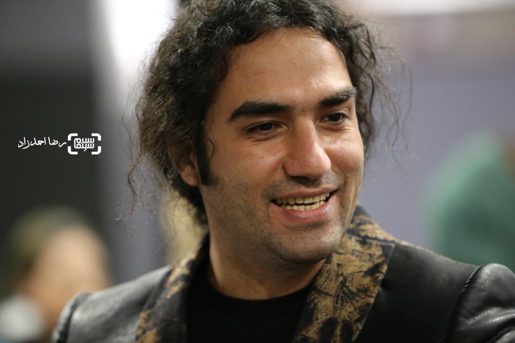 رضا یزدانی در اکران خصوصی فیلم «اروند»