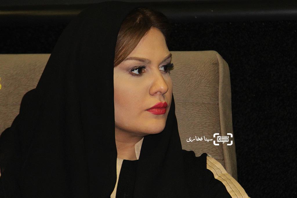 رز رضوی در اکران خصوصی فیلم «این زن حقش را میخواهد»
