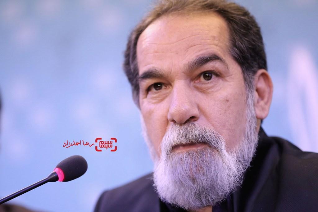 سعید سهیلی در نشست خبری فیلم «گشت 2» در سی و پنجمین جشنواره فیلم فجر
