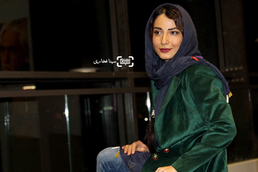 سمیرا حسن پور در اکران خصوصی فیلم «متولد 65»