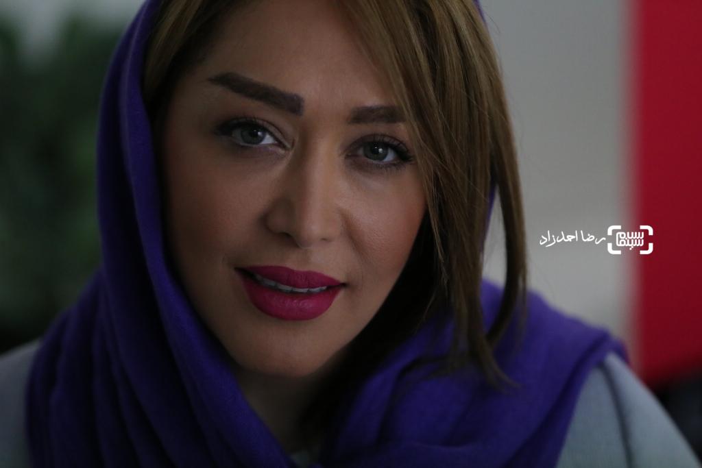 سارا منجزی پور در اکران خصوصی فیلم «اینجا کسی نمی میرد» ساخته حسین کندری