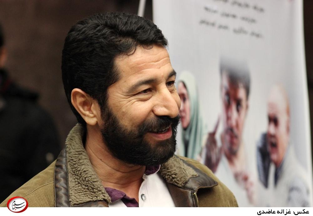 سید محسن جاهد در اکران خصوصی فیلم «در مدت معلوم»