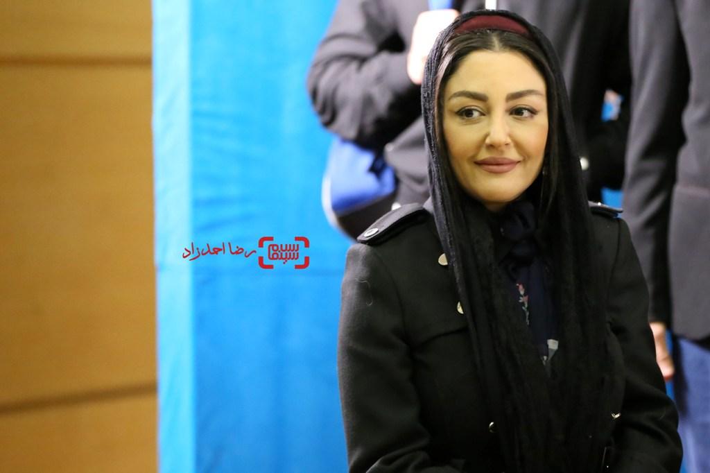 شقایق فراهانی در اکران فیلم «آزاد به قید شرط» در سی و پنجمین جشنواره فیلم فجر