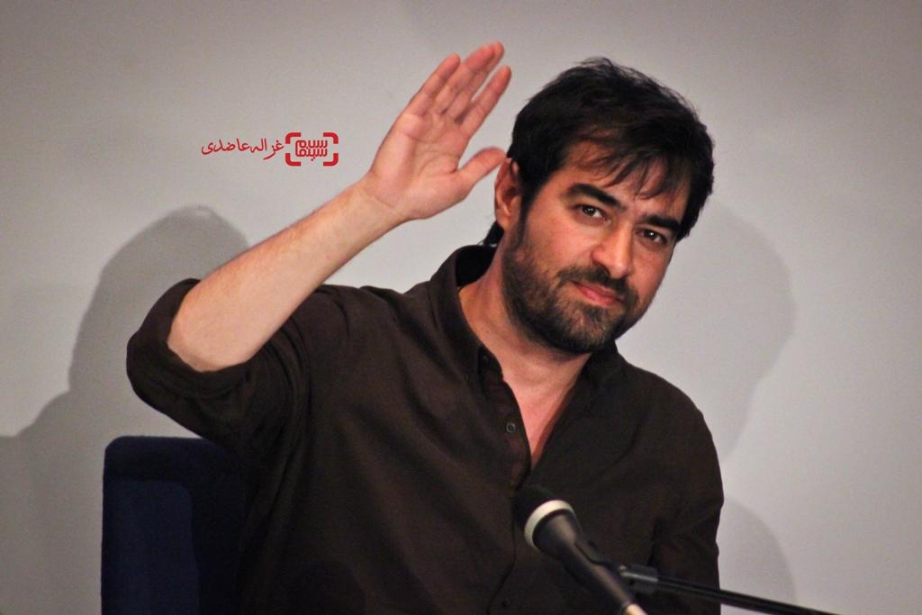شهاب حسینی در نشست خبری فیلم فروشنده