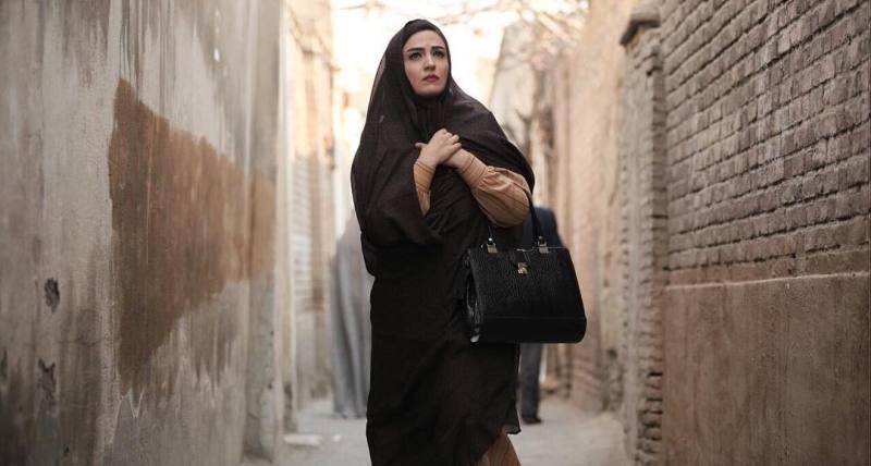 گلاره عباسی در نمایی از سریال «شهرزاد»