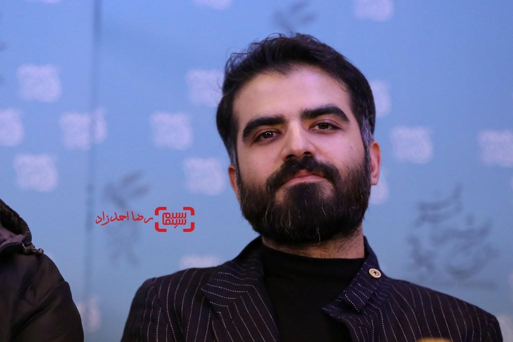 سینا سعیدیان در نشست خبری «شنل» در سی و پنجمین جشنواره فیلم فجر