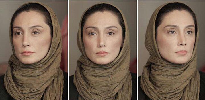 تست گریم هدیه تهرانی در فیلم «عادت نمی کنیم»