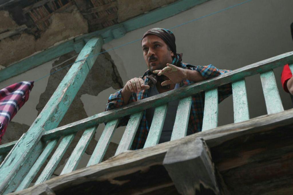 احمد مهران فر در نمایی از فیلم «زاپاس»