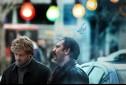 پژمان بازغی و محمدرضا هدایتی در نمایی از فیلم «فصل نرگس» ساخته نگار آذربایجانی