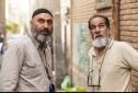 سعید سهیلی و حمید فرخ نژاد در پشت صحنه فیلم «گشت ارشاد2»