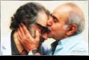 پرویز پرستویی و مسعود کیمیایی در پشت صحنه فیلم «قاتل اهلی»