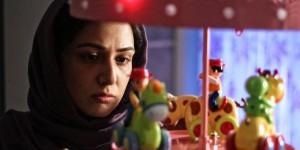باران کوثری در نمایی از فیلم «هفت ماهگی»