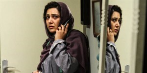 باران کوثری در نمایی از فیلم «هفت ماهگی» ساخته هاتف علیمردانی