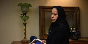 سهیلا رضوی در نمایی از فیلم «خانهای در خیابان چهل و یکم»