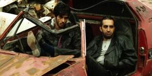 ساعد سهیلی و مصطفي ساساني در نمایی از فیلم «پات» ساخته امیر تودهروستا
