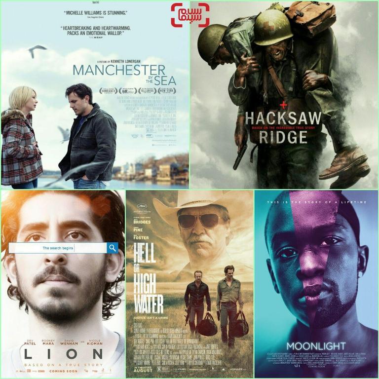 نامزدهای بهترین فیلم درام گلدن گلاب 2017 «شیر» «مهتاب» «