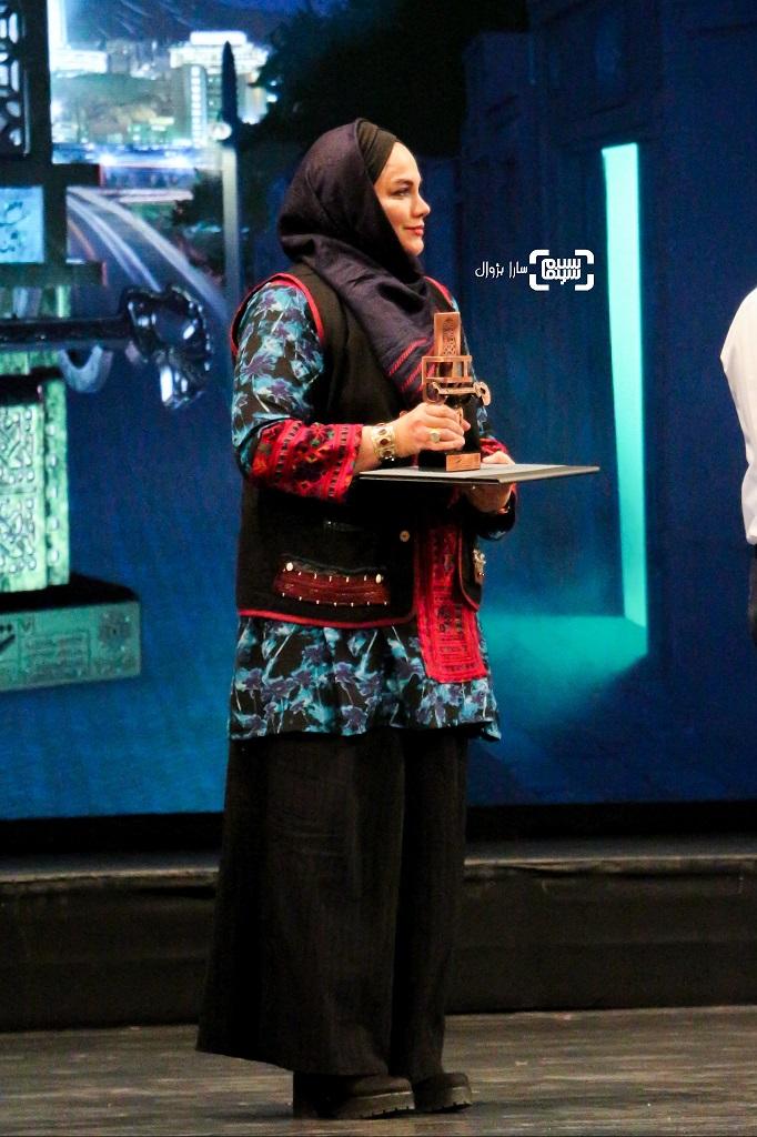 نرگس آبیار اختتامیه هفتمین جشنواره فیلم شهر