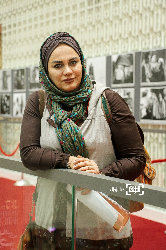 عکس نرگس آبیار در روز دوم سی و هفتمین جشنواره جهانی فیلم فجر