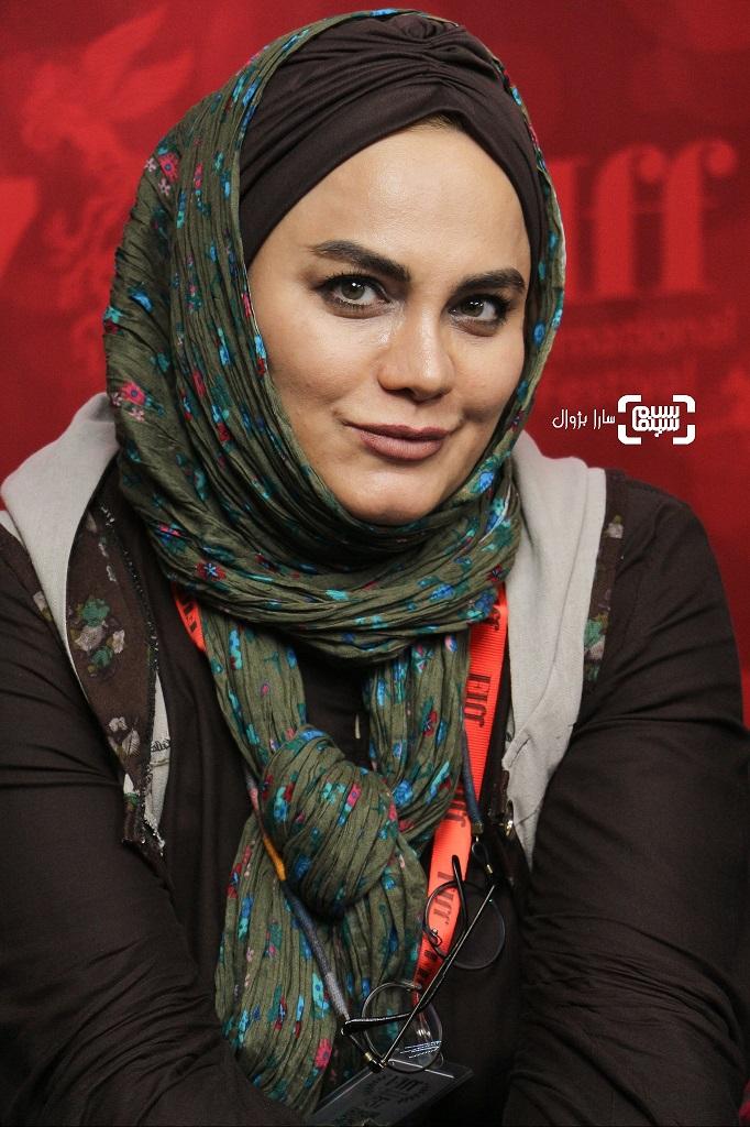 نرگس آبیار در روز دوم سی و هفتمین جشنواره جهانی فیلم فجر