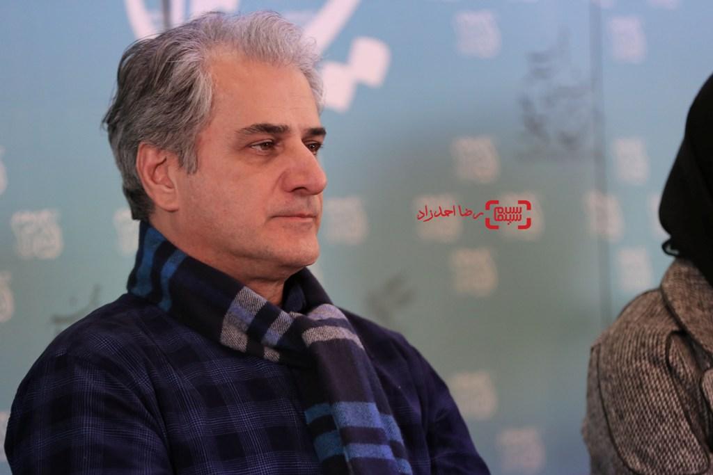 ناصر هاشمی در نشست خبری فیلم «خانه دیگری» در جشنواره فیلم فجر35
