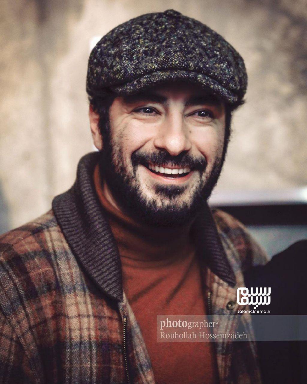 نوید محمدزاده خطاب به اکبر زنجانپور: از شما یاد گرفتم که باید عاشق بازیگری باشی.
